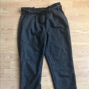 Tibi Wool/ Acrylic Paper Bag Pants in sz 0